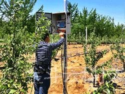 2016年4月山东海阳果园智能灌溉圆满结束