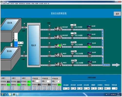 双河水厂自动化应用效果