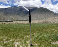 西藏智能灌溉项目现场