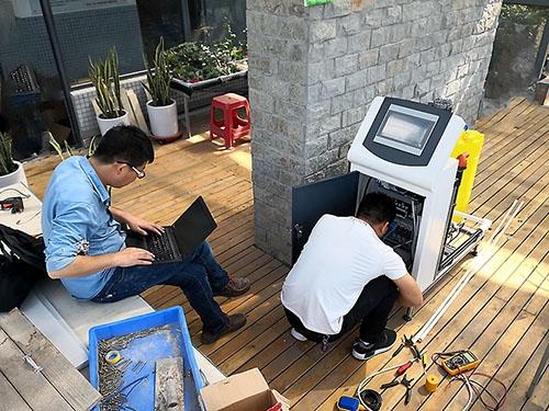 郑州一中大棚水肥一体化