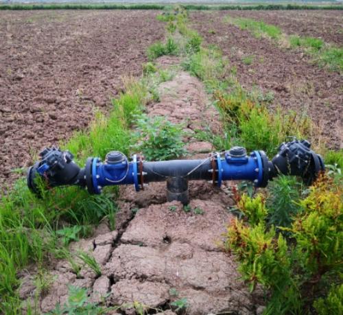 武汉农科院农田灌溉项目施工进行时...