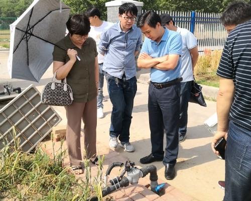 新乡市原阳县农业示范基地水肥一体机项目